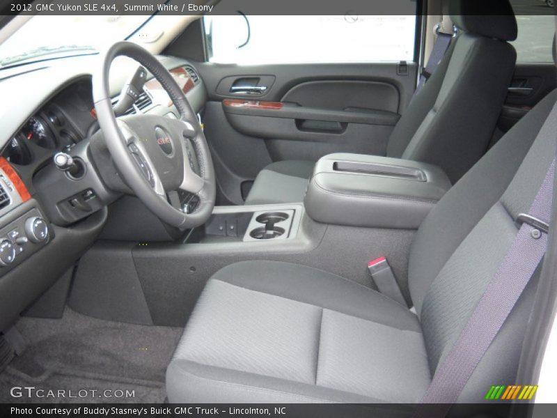 2012 Yukon SLE 4x4 Ebony Interior