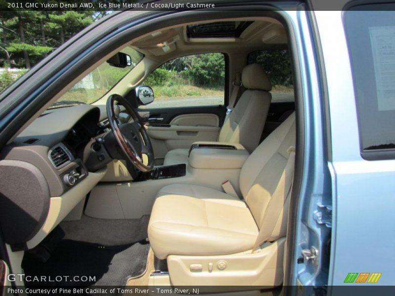 2011 Yukon Denali AWD Cocoa/Light Cashmere Interior