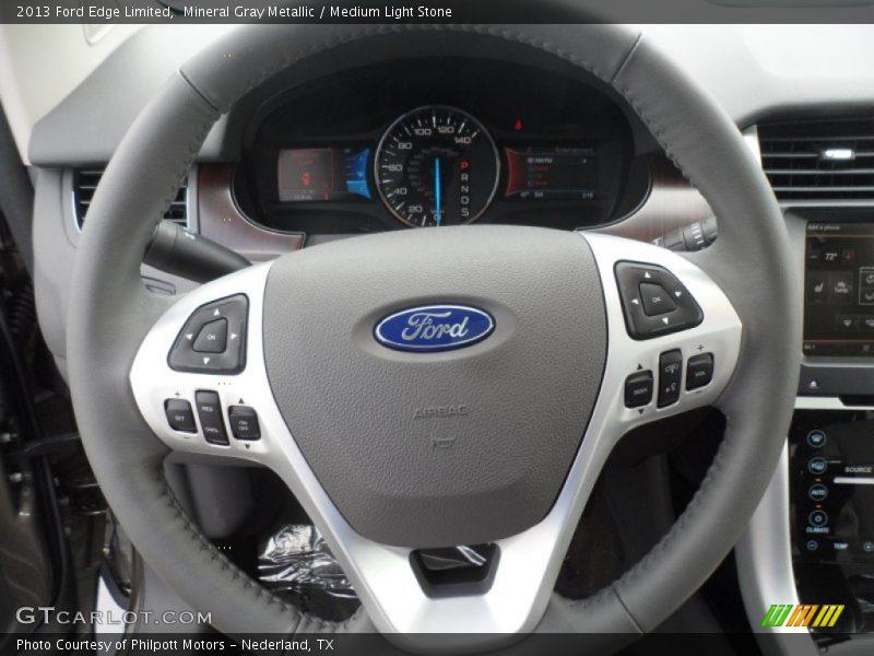 2013 Edge Limited Steering Wheel