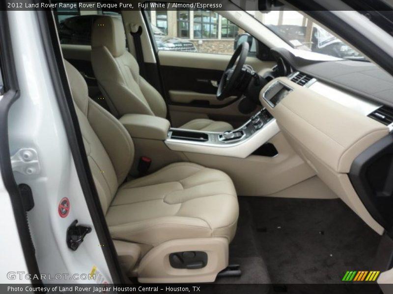 2012 range rover evoque pure almond espresso interior - Range rover sport almond interior ...