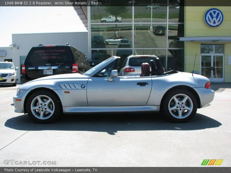 1998 Bmw Z3 Silver 200 Interior And Exterior Images