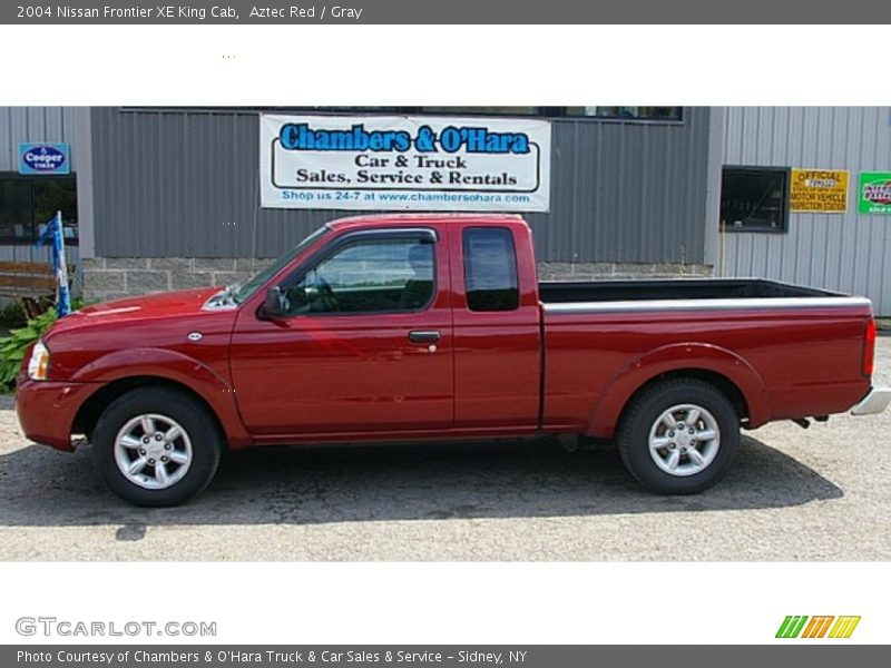 2004 nissan frontier xe king cab in aztec red photo no 68573179. Black Bedroom Furniture Sets. Home Design Ideas