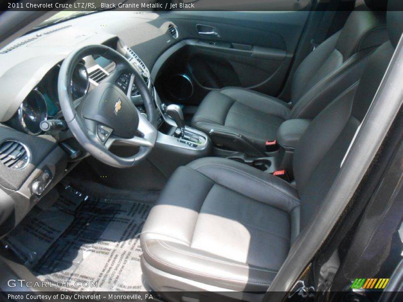 Black Granite Metallic / Jet Black 2011 Chevrolet Cruze LTZ/RS