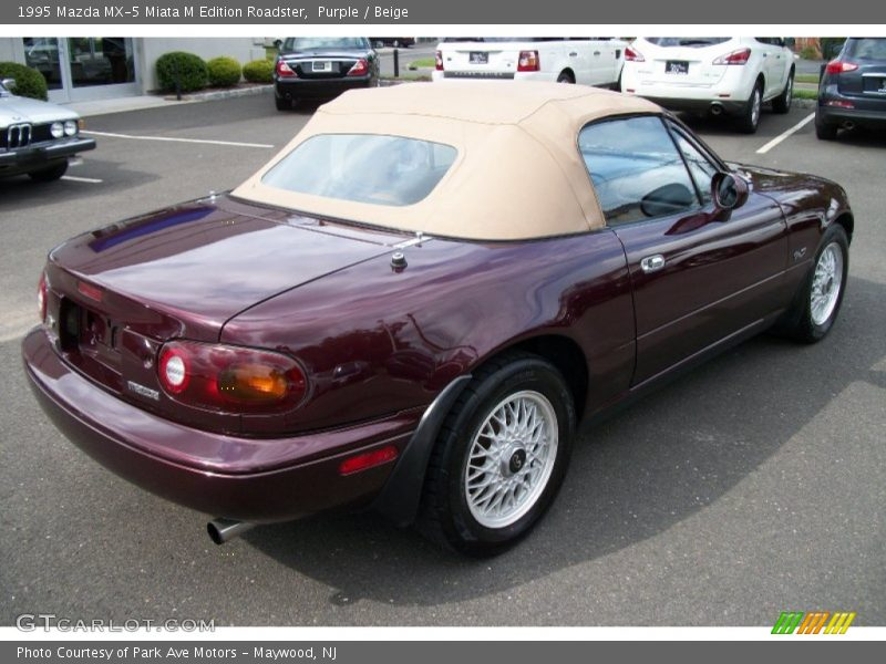 1995 mazda mx 5 miata m edition roadster in purple photo no 68712610. Black Bedroom Furniture Sets. Home Design Ideas