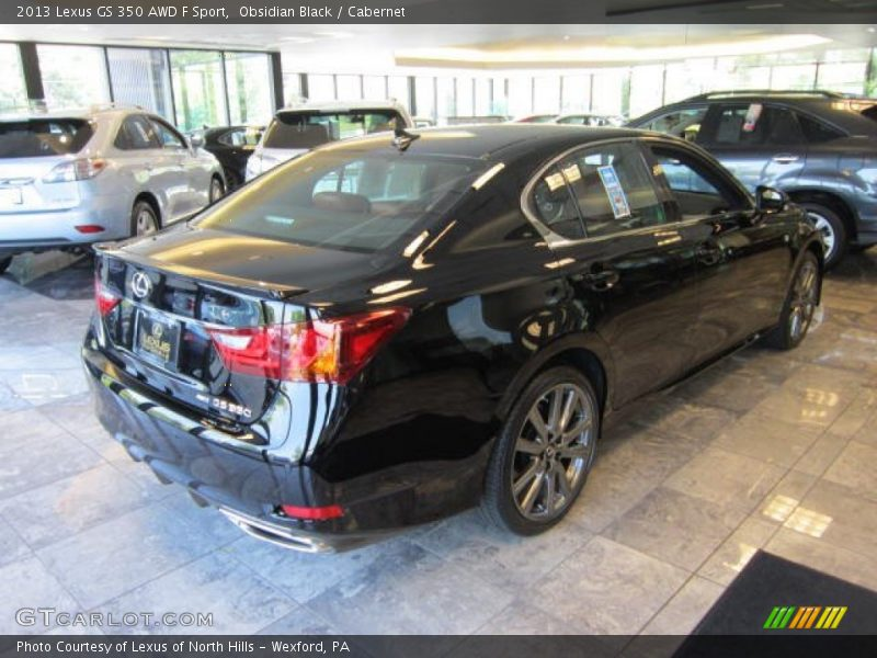 2013 lexus gs 350 awd f sport in obsidian black photo no 68803670. Black Bedroom Furniture Sets. Home Design Ideas