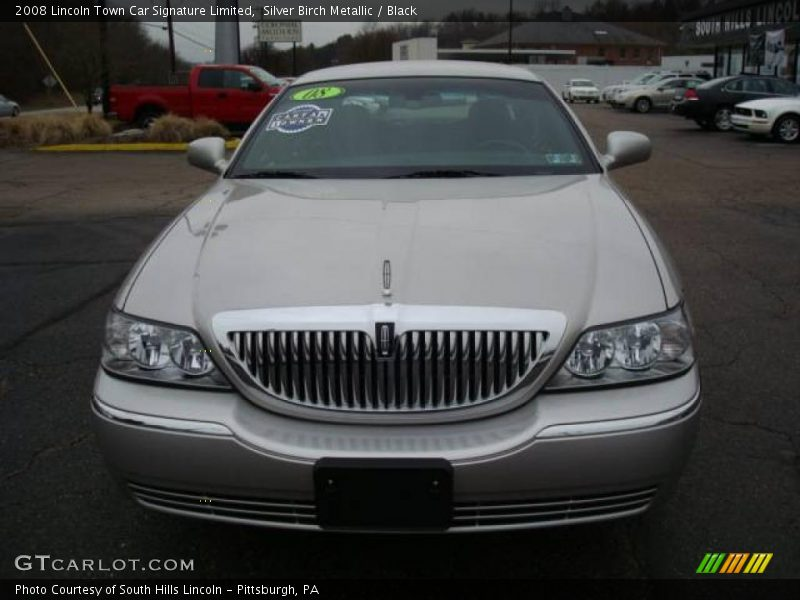 2008 lincoln town car signature limited in silver birch metallic photo no 6881560. Black Bedroom Furniture Sets. Home Design Ideas