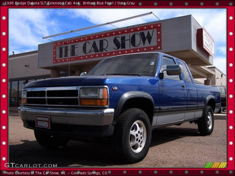 Dodge Extended Warranty >> 1996 Dodge Dakota SLT Extended Cab 4x4 in Brilliant Blue Pearl Photo No. 6920083 | GTCarLot.com