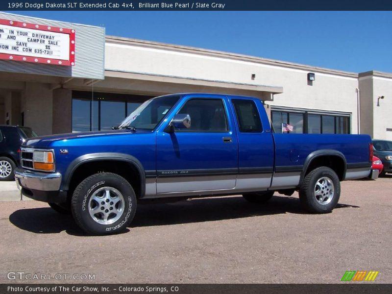 Photo on 1996 Dodge Dakota Extended Cab Blue