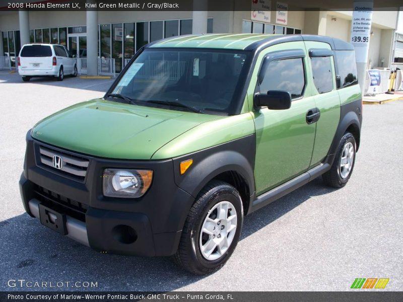 2008 honda element lx in kiwi green metallic photo no for Green honda element