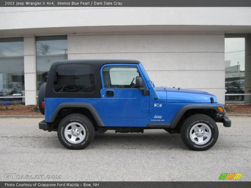 2003 jeep wrangler x 4x4 in intense blue pearl photo no 6939491. Black Bedroom Furniture Sets. Home Design Ideas