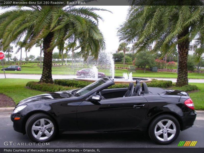 2007 mercedes benz slk 280 roadster in black photo no for 2007 mercedes benz slk
