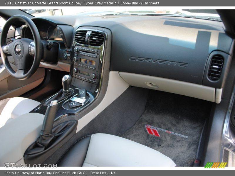 2011 Corvette Grand Sport Coupe Ebony Black Cashmere Interior Photo No 69550512