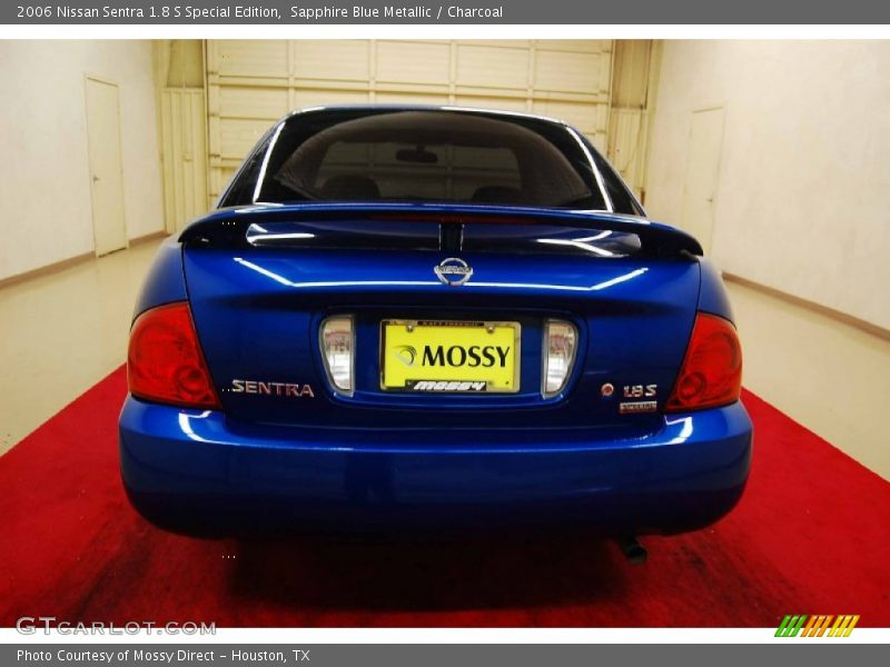 2006 nissan sentra 1 8 s special edition in sapphire blue metallic photo no 70093053. Black Bedroom Furniture Sets. Home Design Ideas