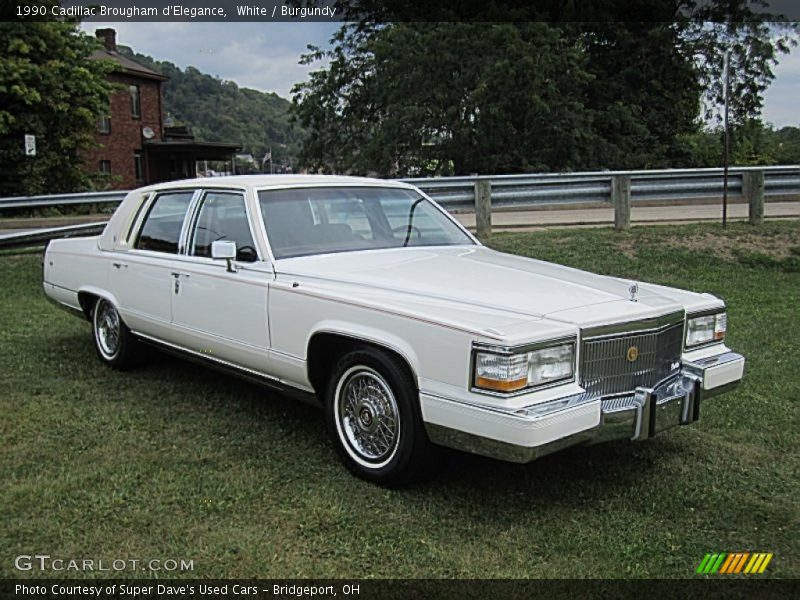 Front 3/4 View of 1990 Brougham d'Elegance