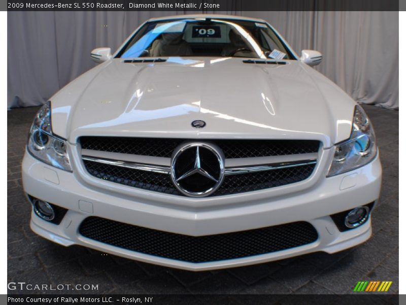 2009 mercedes benz sl 550 roadster in diamond white for G stone motors used cars