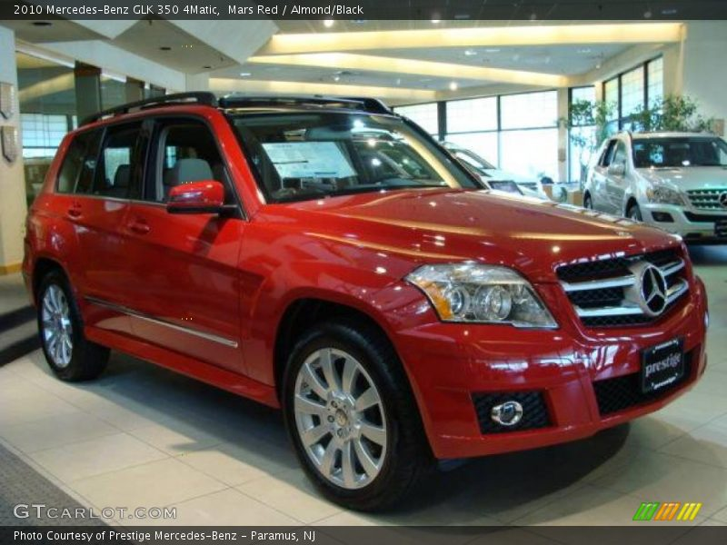 2010 Mercedes Benz Glk 350 4matic In Mars Red Photo No