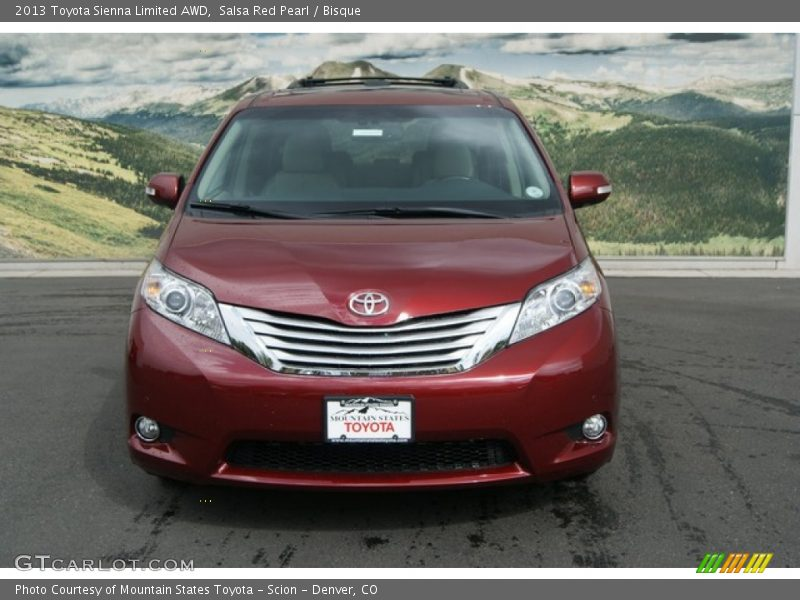 2013 toyota sienna limited awd in salsa red pearl photo no. Black Bedroom Furniture Sets. Home Design Ideas
