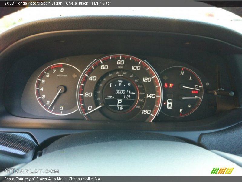 2013 Accord Sport Sedan Sport Sedan Gauges