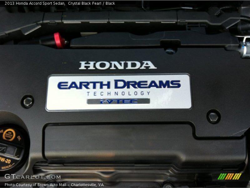 2013 Accord Sport Sedan Engine - 2.4 Liter Earth Dreams DI DOHC 16-Valve i-VTEC 4 Cylinder