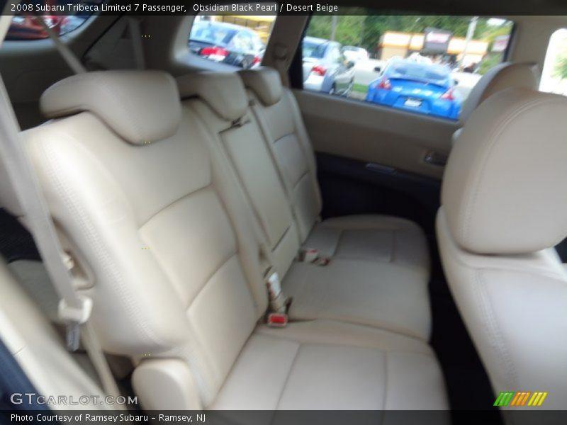 Obsidian Black Pearl / Desert Beige 2008 Subaru Tribeca Limited 7 Passenger