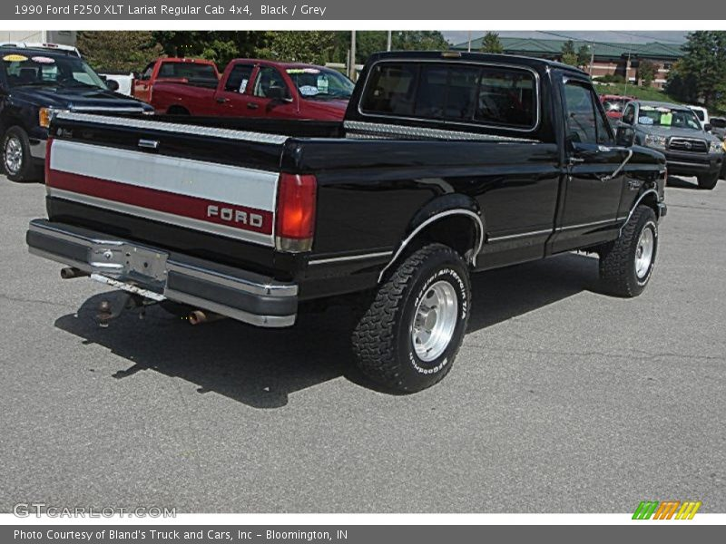 1990 Ford F250 XLT Lariat Regular Cab 4x4 in Black Photo No. 71195053 ...