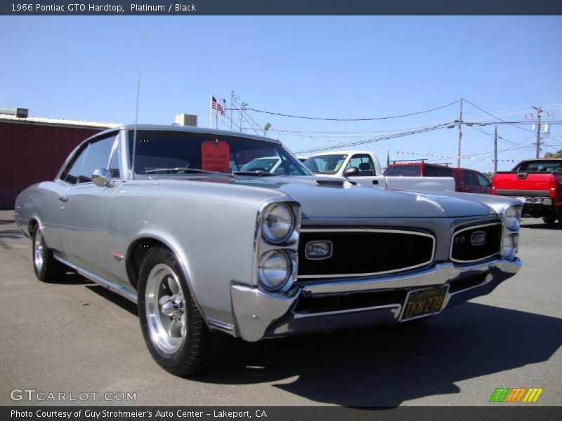 Front 3/4 View of 1966 GTO Hardtop
