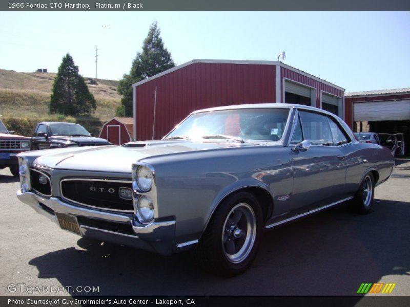 Platinum / Black 1966 Pontiac GTO Hardtop