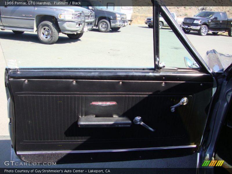 Door Panel of 1966 GTO Hardtop
