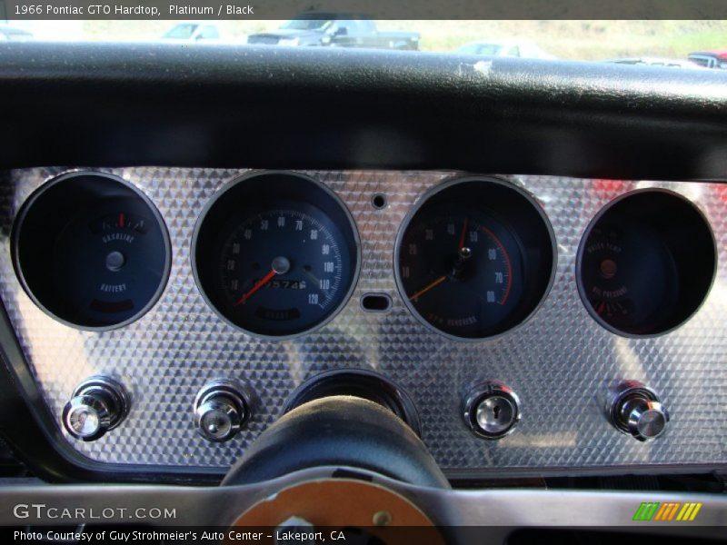 1966 GTO Hardtop Hardtop Gauges