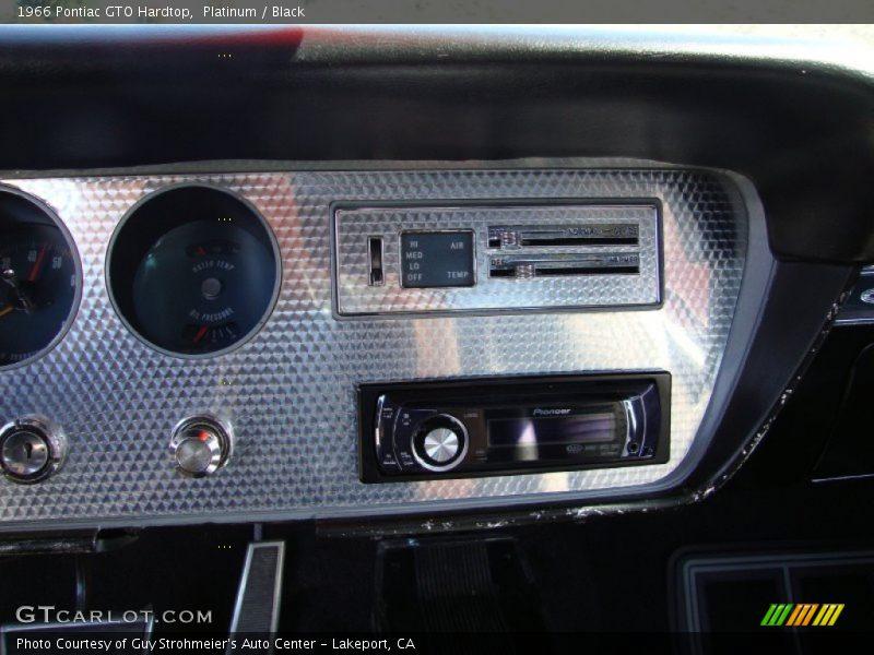 Controls of 1966 GTO Hardtop