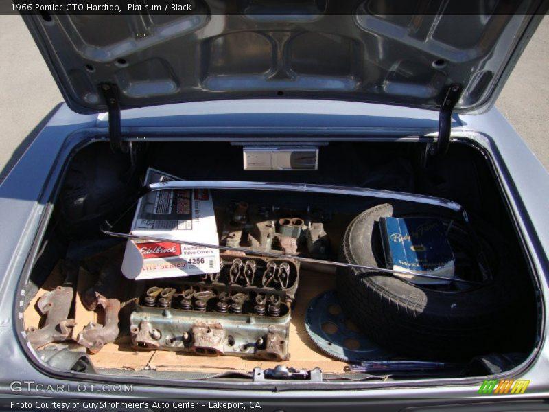 1966 GTO Hardtop Trunk