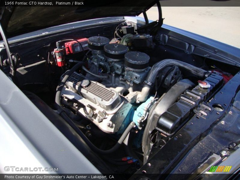 1966 GTO Hardtop Engine - 389 cid OHV 16-Valve Tri-Power V8