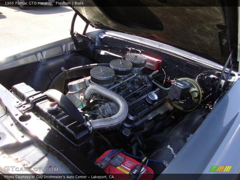 1966 GTO Hardtop Engine - 389 cid OHV 16-Valve Tri-Power V8
