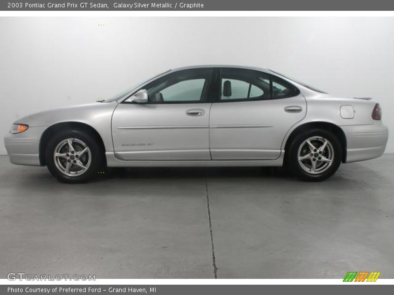 2003 pontiac grand prix gt sedan in galaxy silver metallic. Black Bedroom Furniture Sets. Home Design Ideas