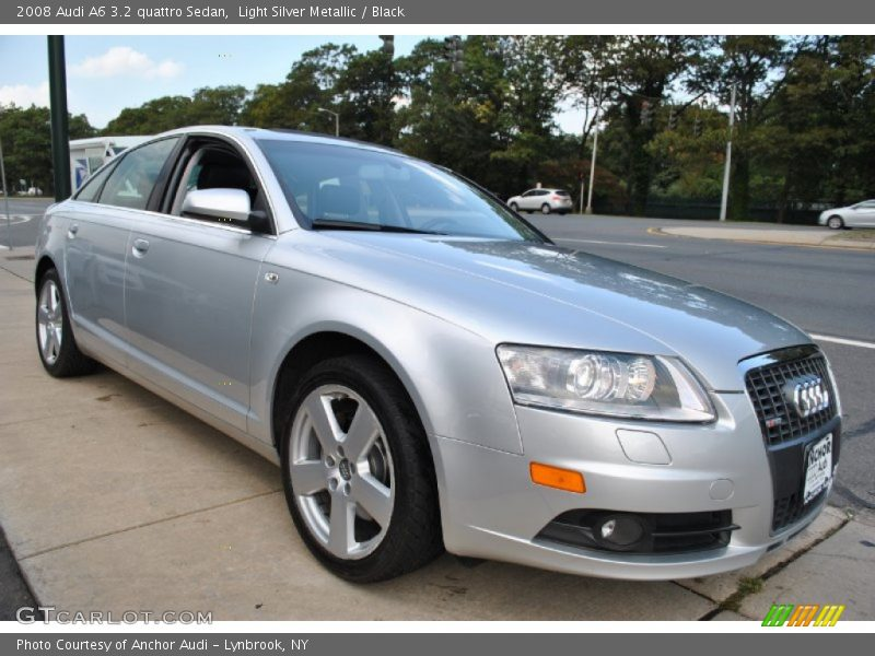 2008 audi a6 3 2 quattro sedan in light silver metallic photo no 71419597. Black Bedroom Furniture Sets. Home Design Ideas