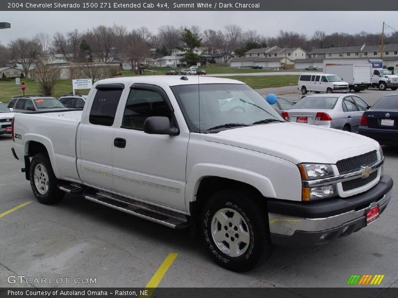 2004 chevrolet silverado 1500 z71 extended cab 4x4 in summit white photo no 7171317. Black Bedroom Furniture Sets. Home Design Ideas