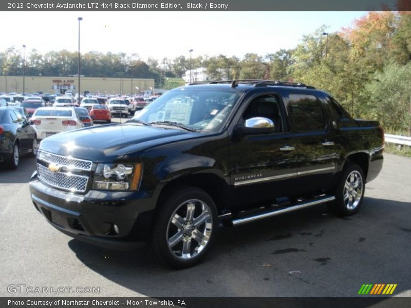2013 chevrolet avalanche ltz 4x4 black diamond edition in black photo no 71945285. Black Bedroom Furniture Sets. Home Design Ideas