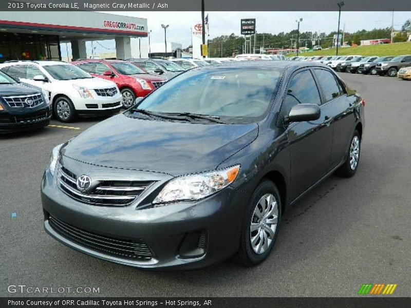 2013 toyota corolla le in magnetic gray metallic photo no. Black Bedroom Furniture Sets. Home Design Ideas