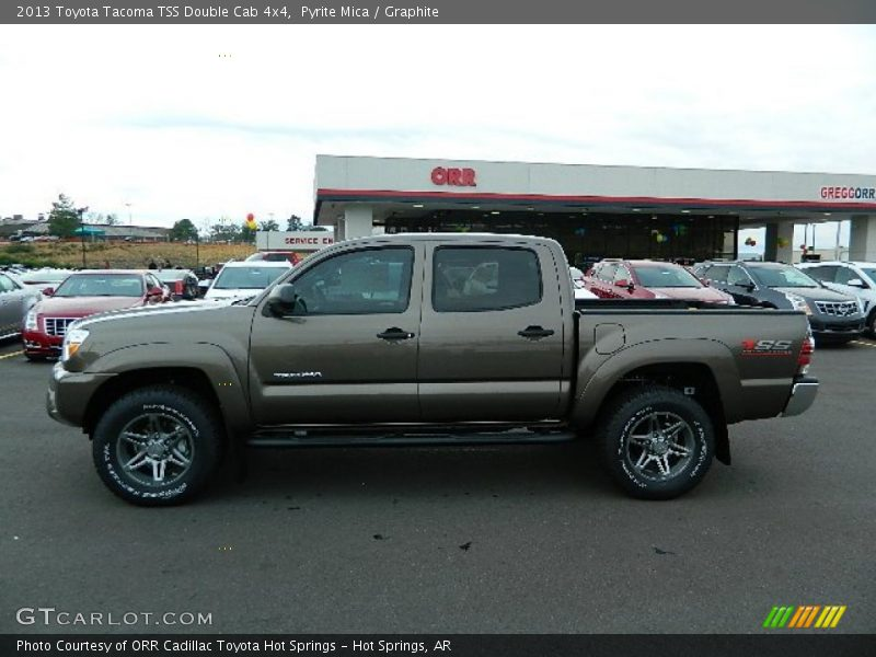 2013 toyota tacoma tss double cab 4x4 in pyrite mica photo no 72099561. Black Bedroom Furniture Sets. Home Design Ideas