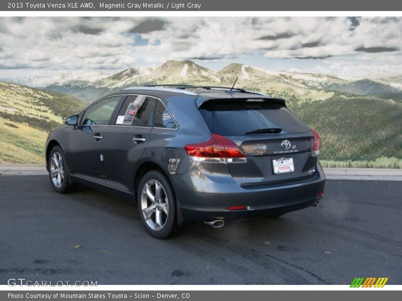 2013 toyota venza xle awd in magnetic gray metallic photo. Black Bedroom Furniture Sets. Home Design Ideas