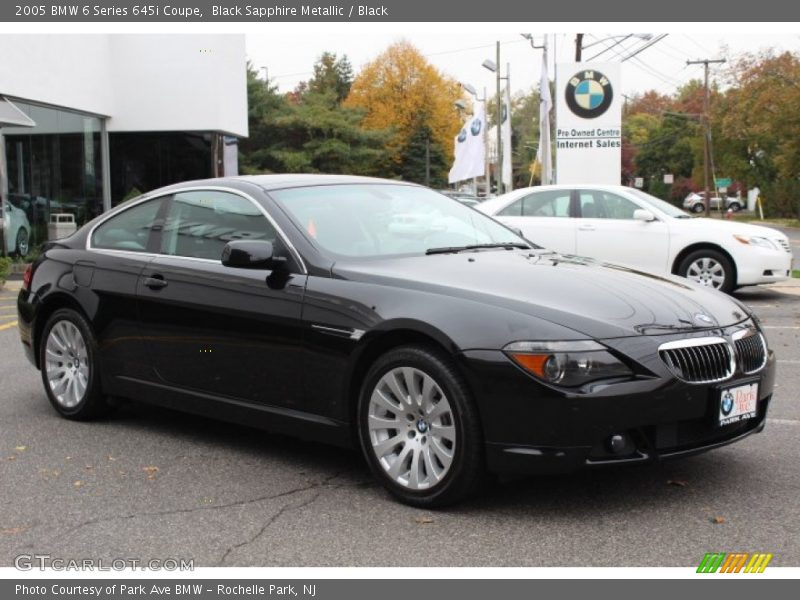 2005 bmw 6 series 645i coupe in black sapphire metallic photo no 72735068. Black Bedroom Furniture Sets. Home Design Ideas