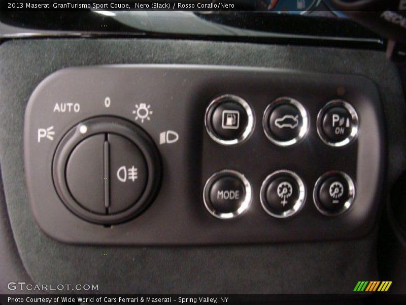 Controls of 2013 GranTurismo Sport Coupe