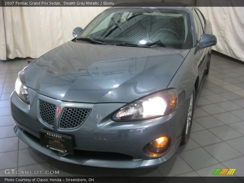 Stealth Gray Metallic / Ebony 2007 Pontiac Grand Prix Sedan