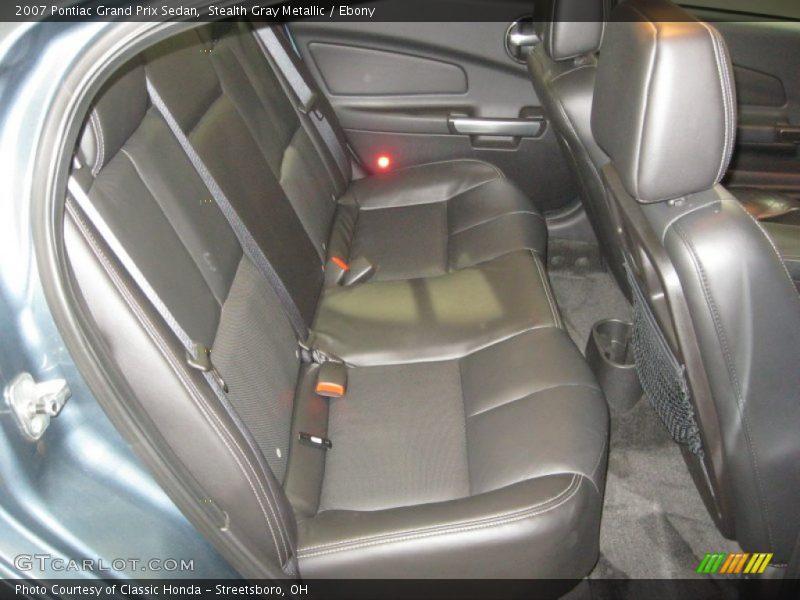 Stealth Gray Metallic / Ebony 2007 Pontiac Grand Prix Sedan