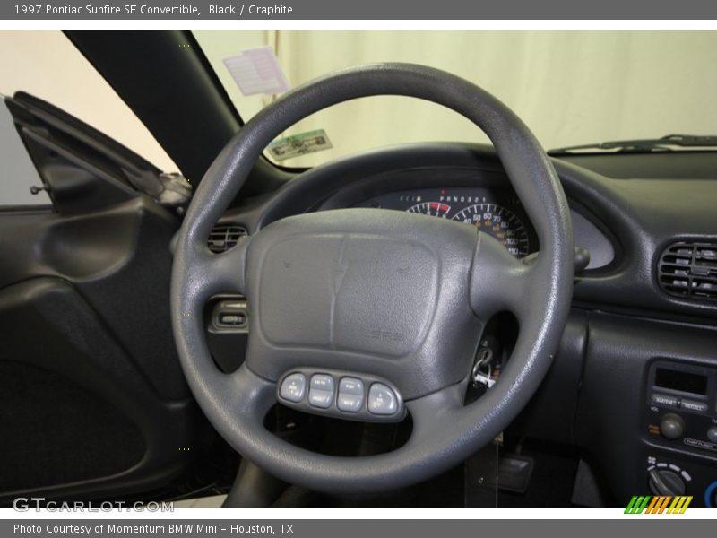 1997 Sunfire SE Convertible Steering Wheel