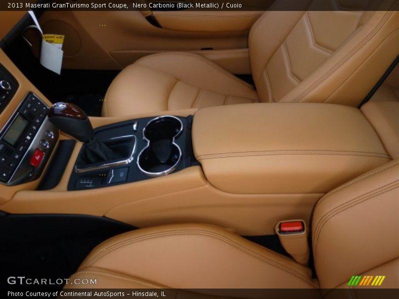 2013 GranTurismo Sport Coupe Cuoio Interior