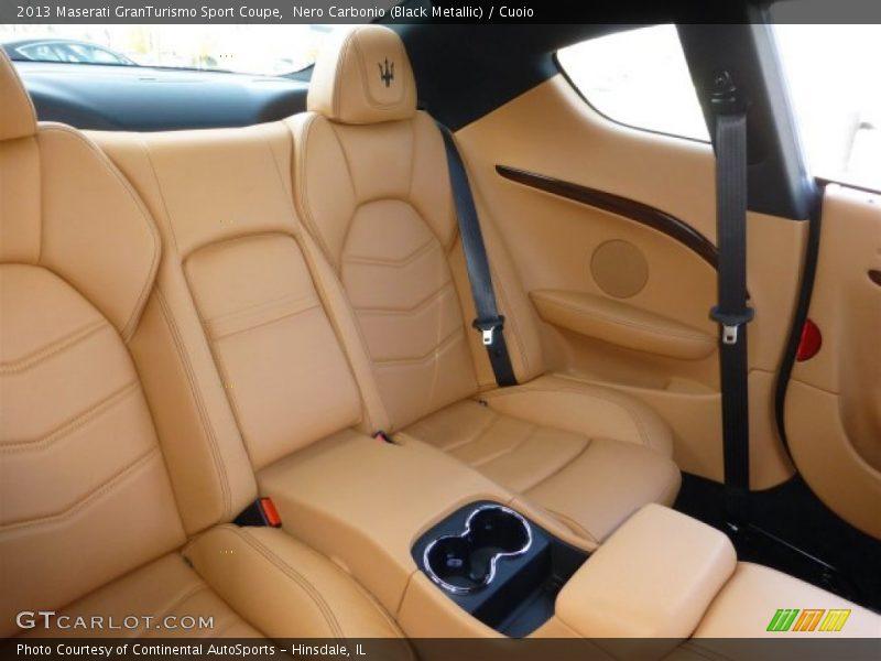 Rear Seat of 2013 GranTurismo Sport Coupe