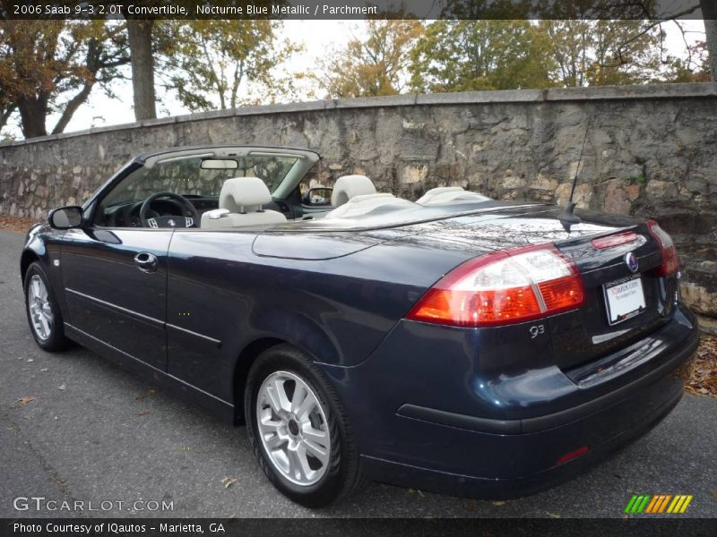 2006 saab 9 3 2 0t convertible in nocturne blue metallic. Black Bedroom Furniture Sets. Home Design Ideas