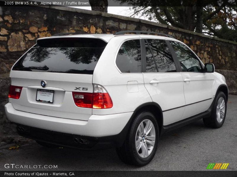 2005 Bmw X5 4 4i In Alpine White Photo No 739614