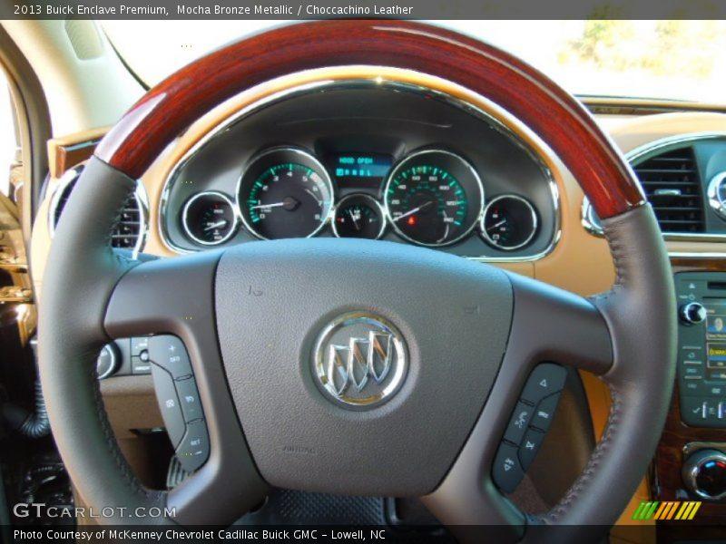 2013 Enclave Premium Steering Wheel